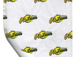Бумага упаковочная с логотипом - вариант 4