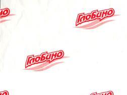 Бумага упаковочная с логотипом - вариант 5