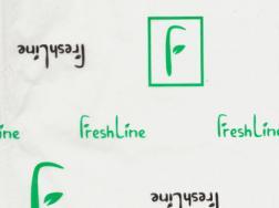 Бумага упаковочная с логотипом - вариант 6