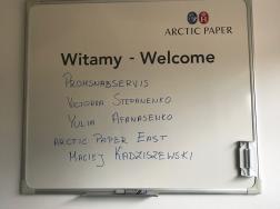 Візит на фабрику Arctic paper Kostrzhyn