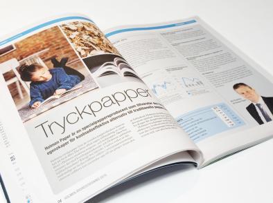 Бумага журнально-книжная Holmen 1