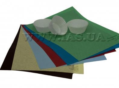 Бумага пергаментная формочек под маффины.