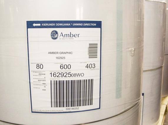 Офсетная бумага «Amber Graphic»