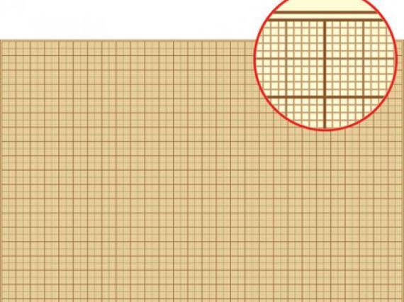 Бумага масштабно-координатная (миллиметровка)