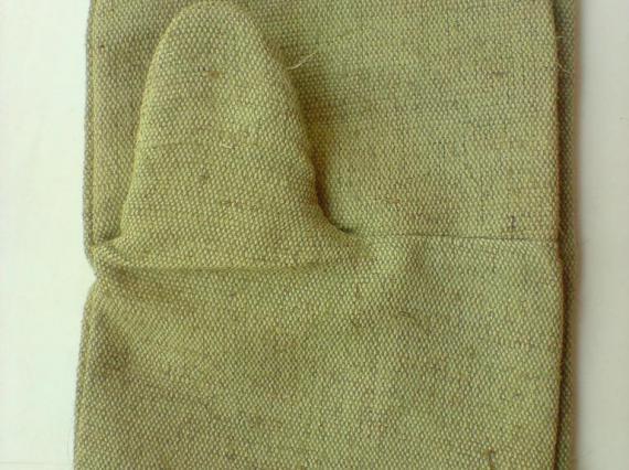 Строительные рукавицы брезентовые