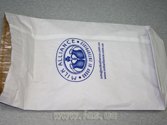 Бумажные мешки из крафт бумаги с полиэтиленовым вкладышем