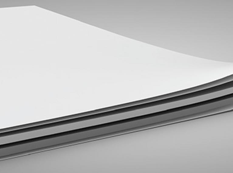 Мелованный (бело-серый) картон